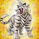 Crystal Beast Topaz Tiger