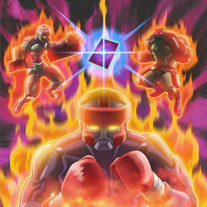 [Edição Limitada]Battlin Boxer Burnin'-Boxin'-Spirit