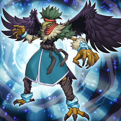 Yugioh Harpie Lady Blackwing - Boreas the...