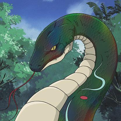 Rainbow-snake-engana