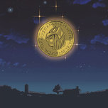 Gold Moon Coin