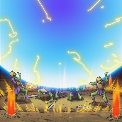 Battle-gravity