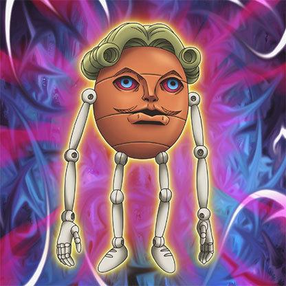 Gimmick-puppet---bomb-egg